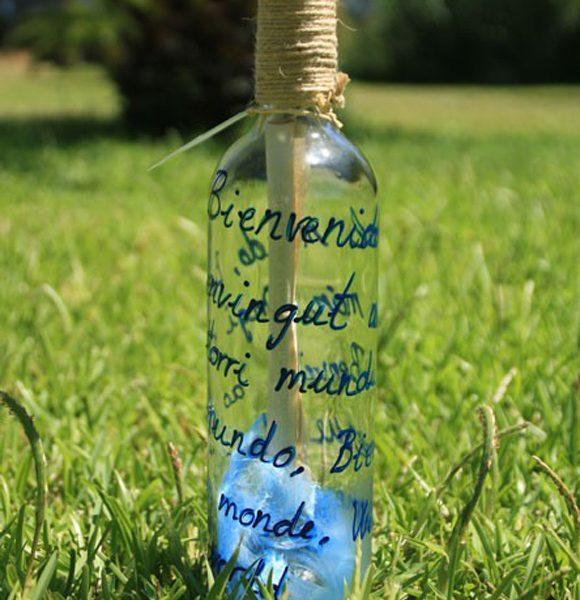 La Botella de Nur. Regalos originales para recién nacidos