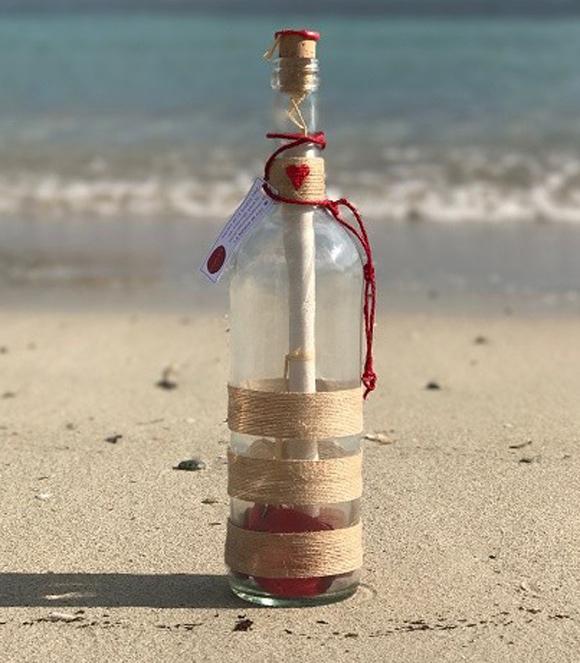 Envía tu mensaje en una botella - Regalos personalizados