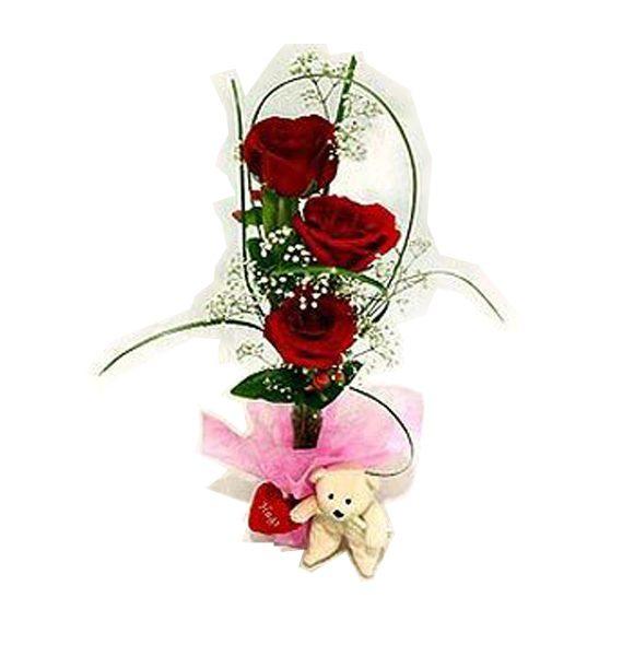 Envía rosas por San Valentín con La Botella de Nur